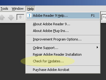 acrobat-check-for-updates